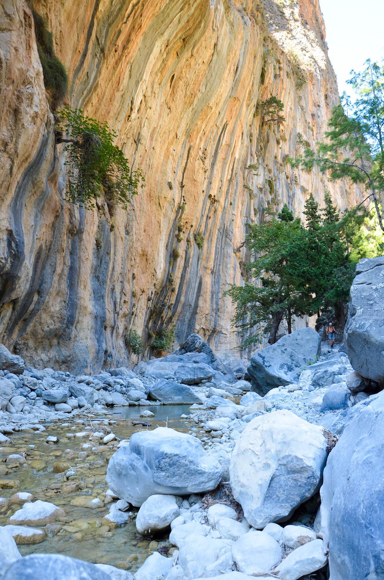 Греція Крит Самарська ущелина