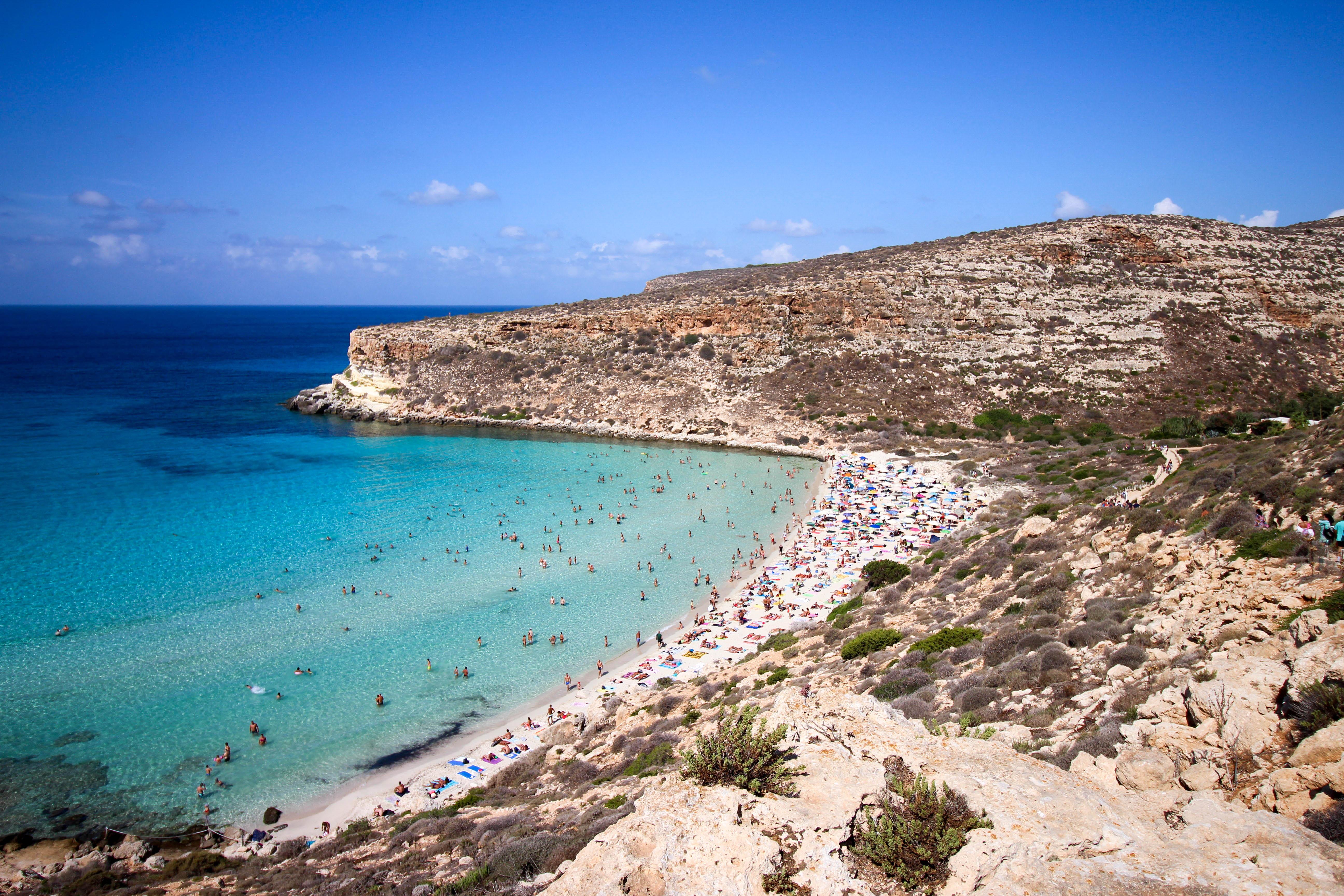 Італія Сицилія Лампедуза