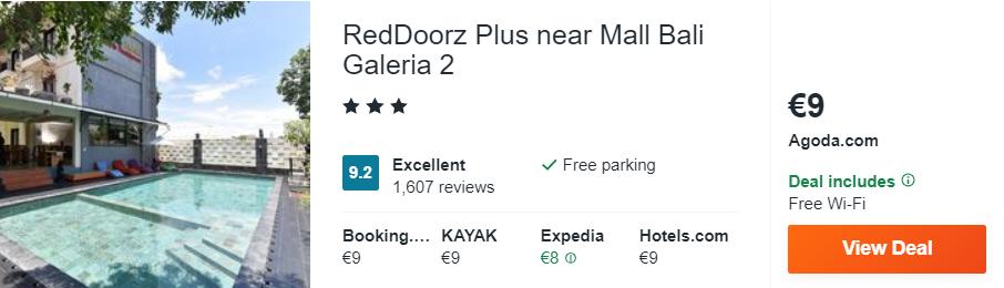 RedDoorz Plus near Mall Bali Galeria 2