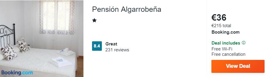 Pensión Algarrobeña