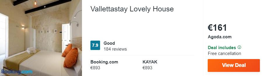 Vallettastay Lovely House