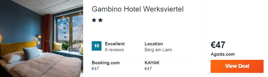 Gambino Hotel Werksviertel