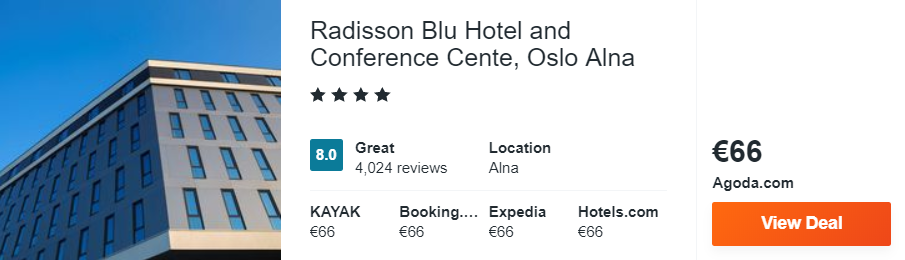 Radisson Blu Hotel and Conference Cente, Oslo Alna