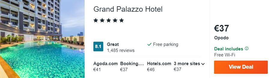 Grand Palazzo Hotel