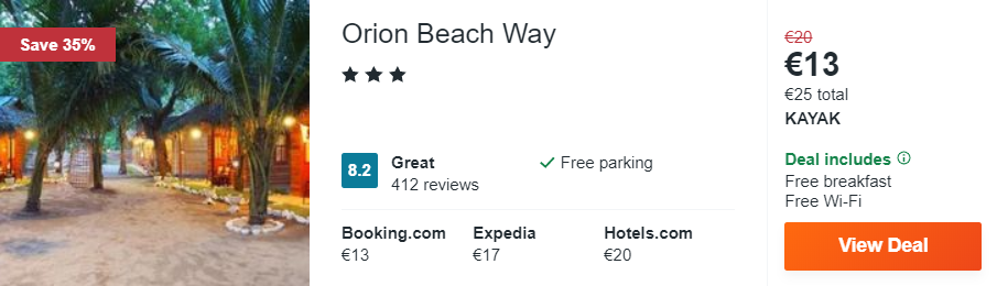 Orion Beach Way