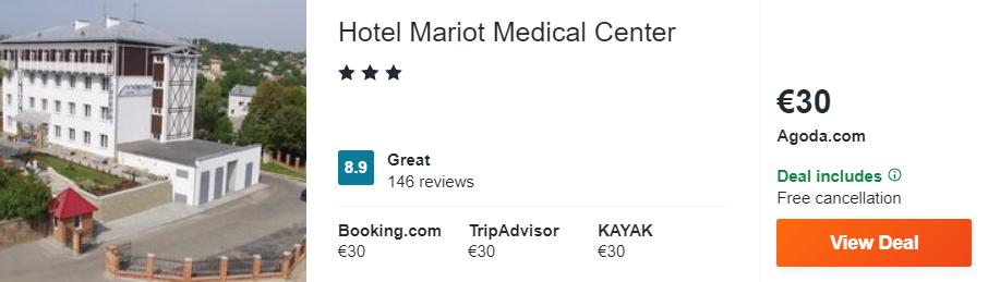 Hotel Mariot Medical Center