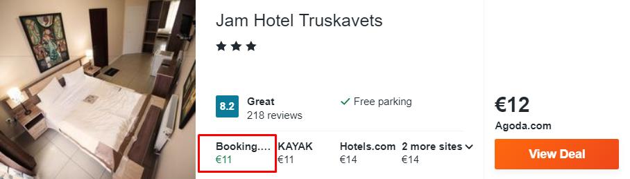 Jam Hotel Truskavets