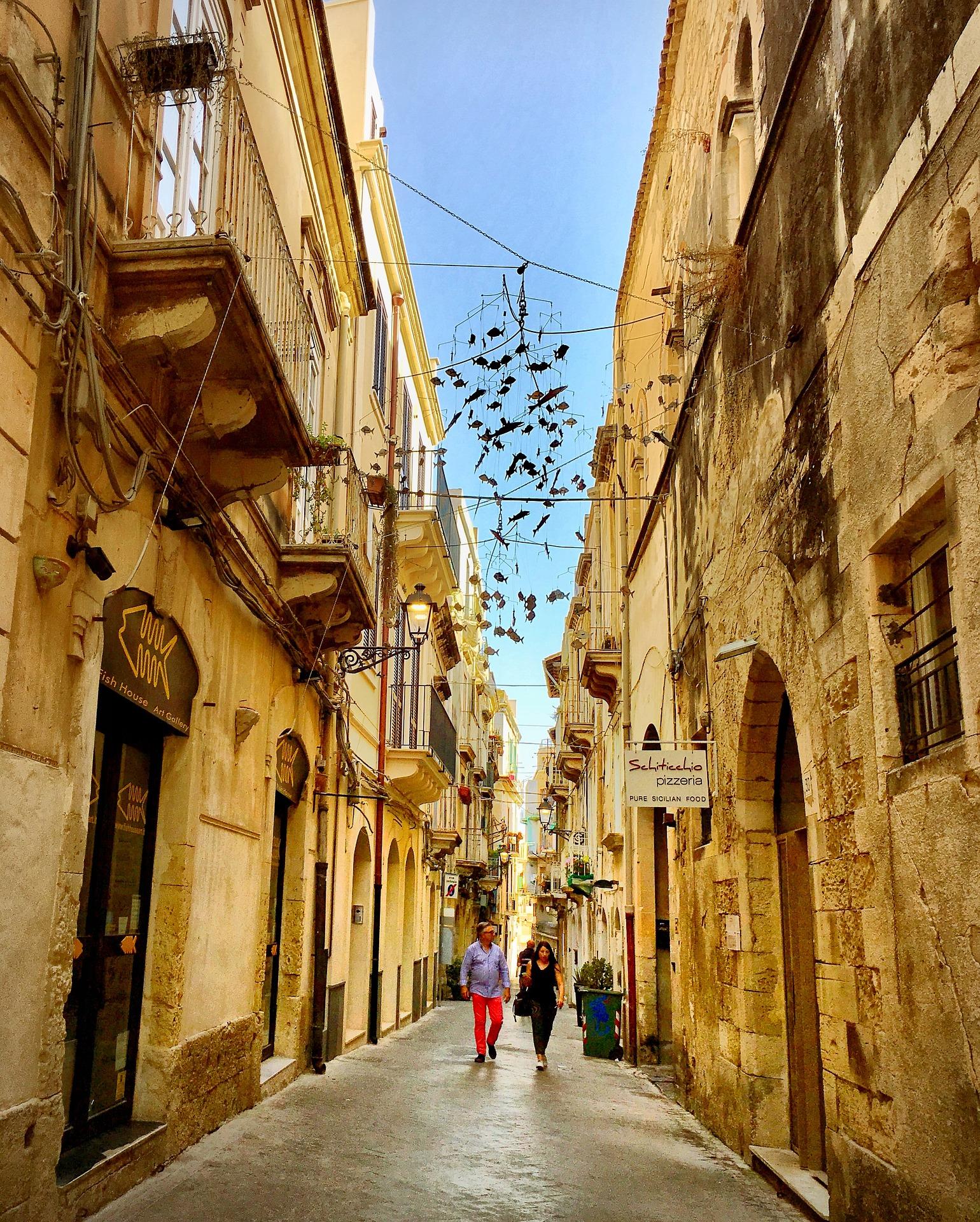 Італія Сицилія Сіракуза