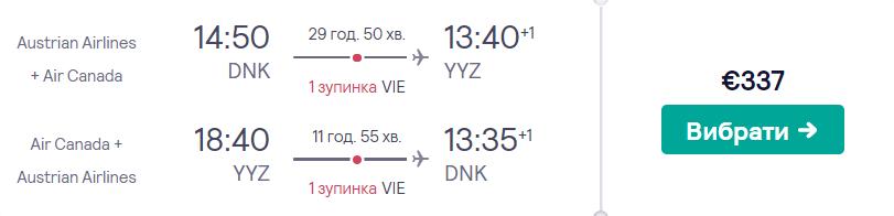 Дніпро -Торонто - Дніпро