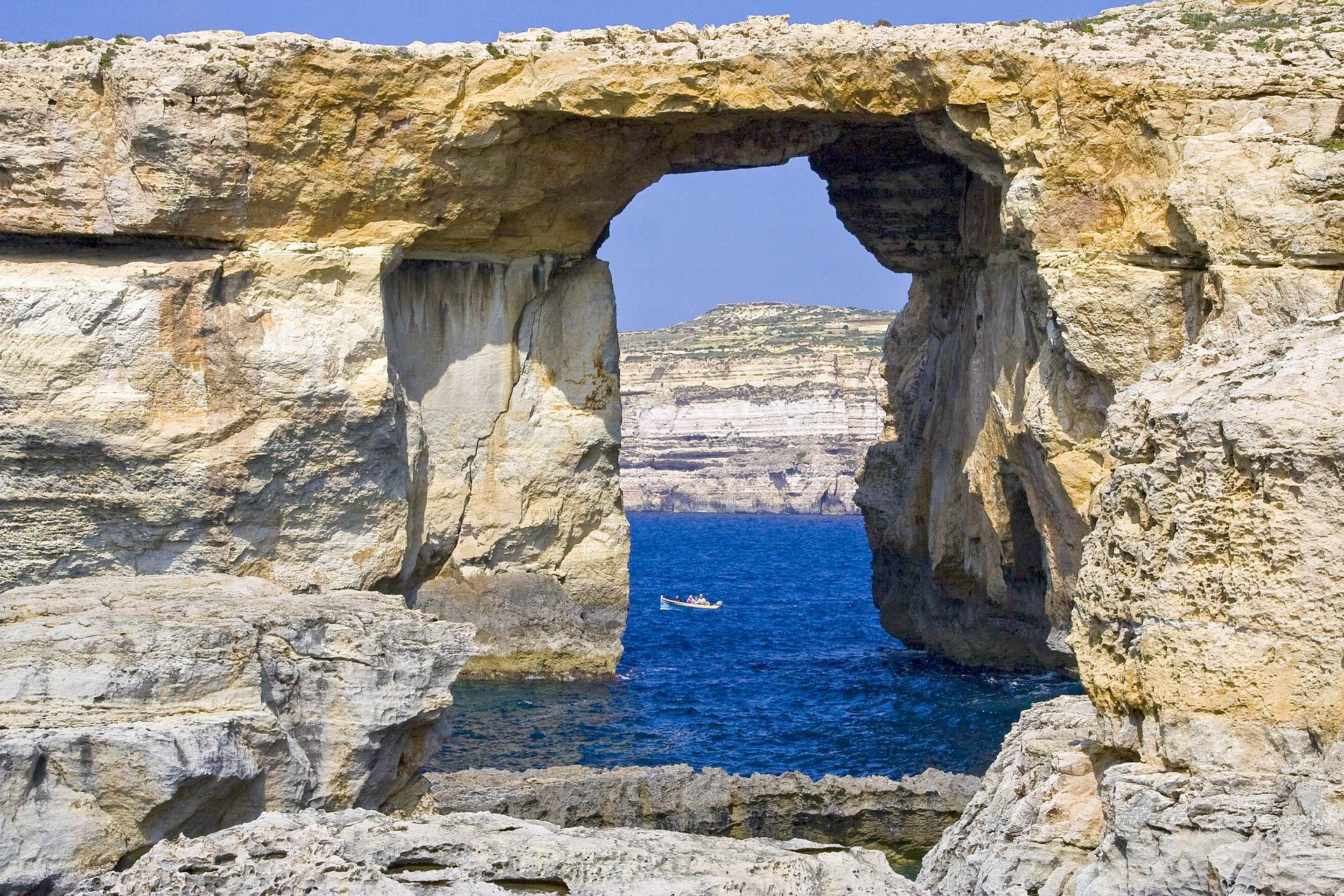 Мальта Гозо арка