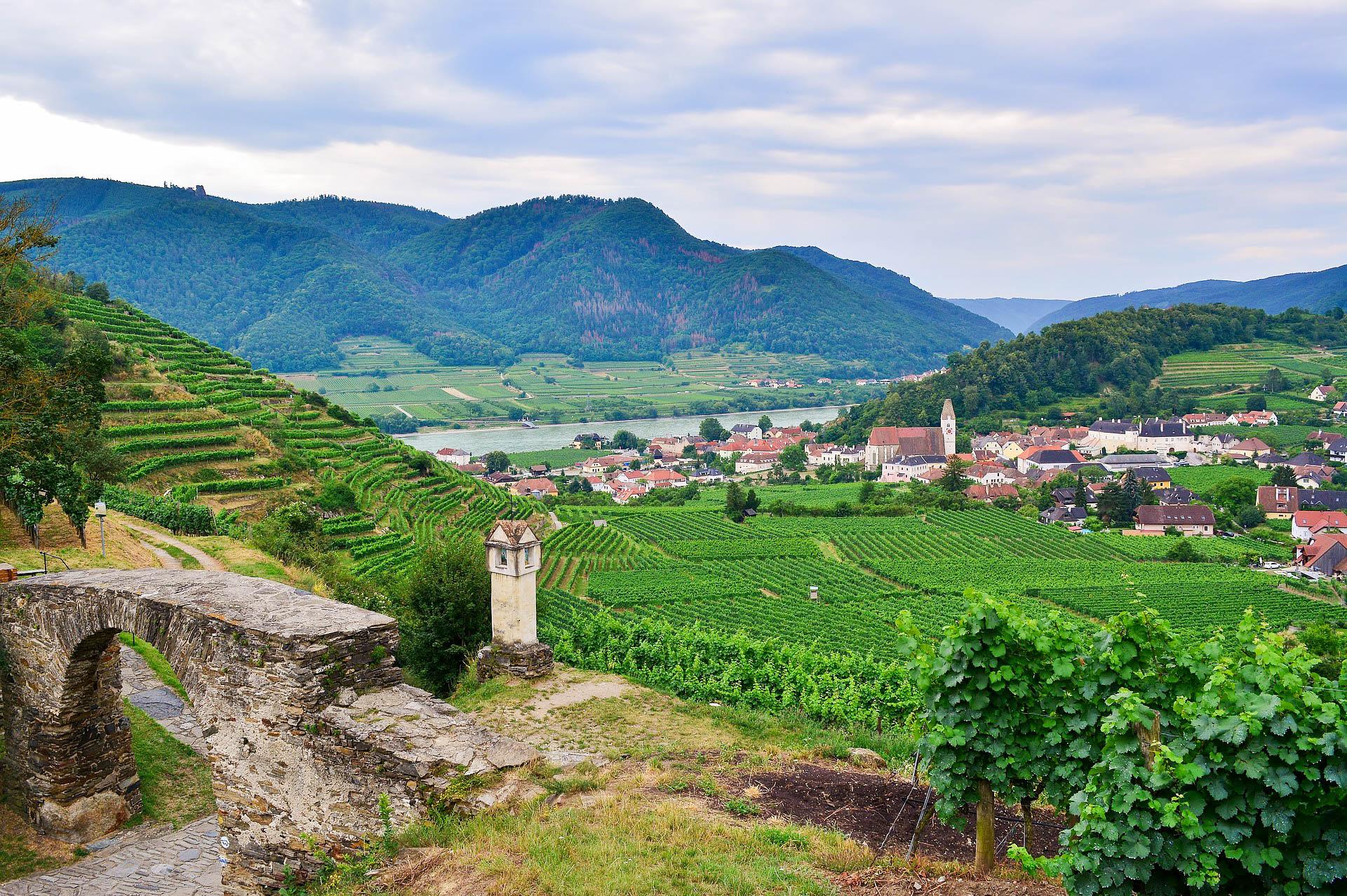 Австрія долина Вахау