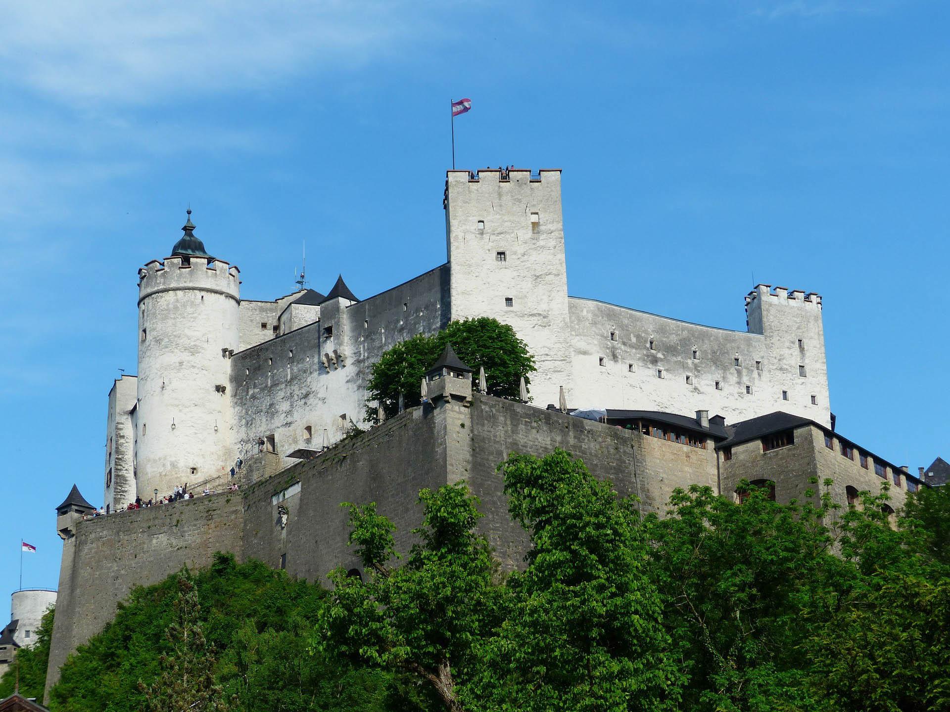 Австрія Зальцбург Гогенсальцбург