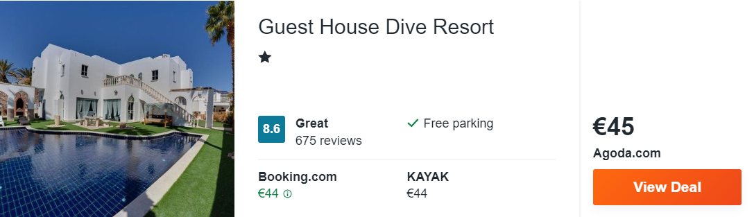 Guest House Dive Resort
