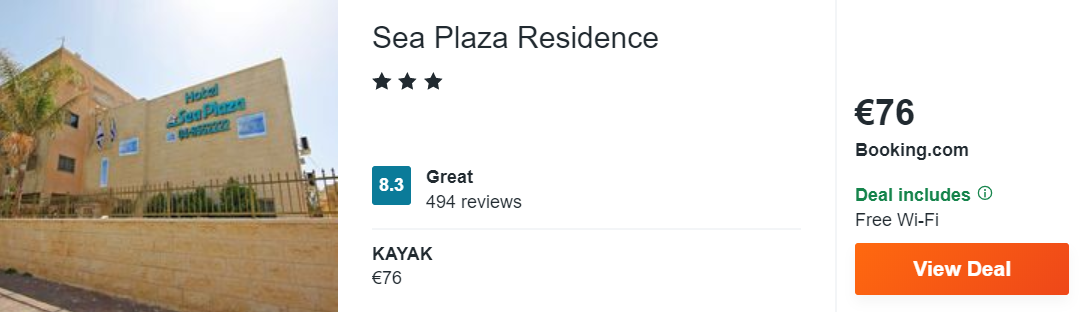 Sea Plaza Residence