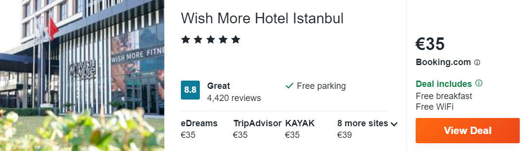 Wish More Hotel Istanbul