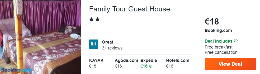 Family Tour Guest House