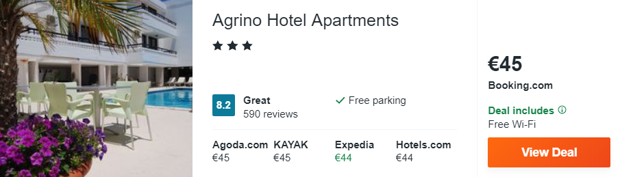 Agrino Hotel Apartments