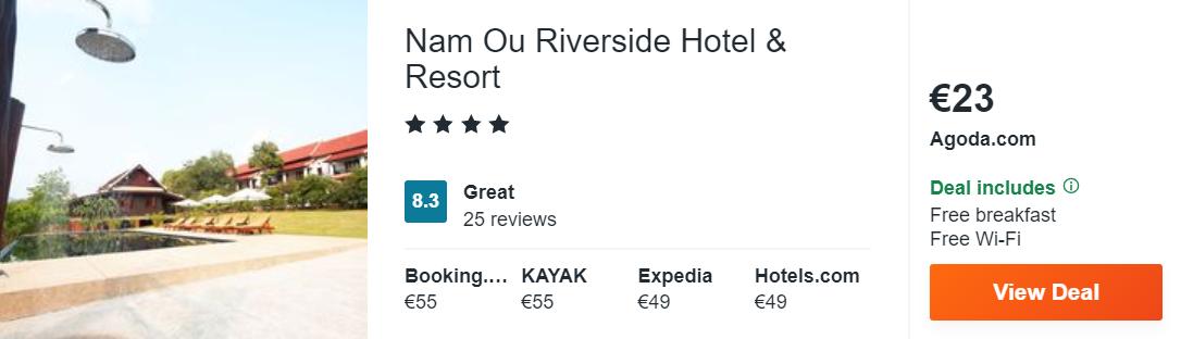 Nam Ou Riverside Hotel & Resort
