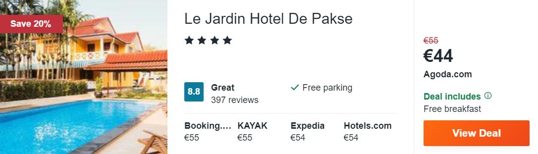 Le Jardin Hotel De Pakse