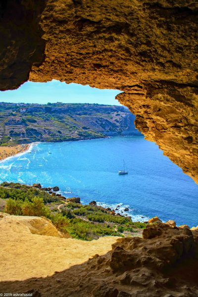 Мальта пляж Рамла
