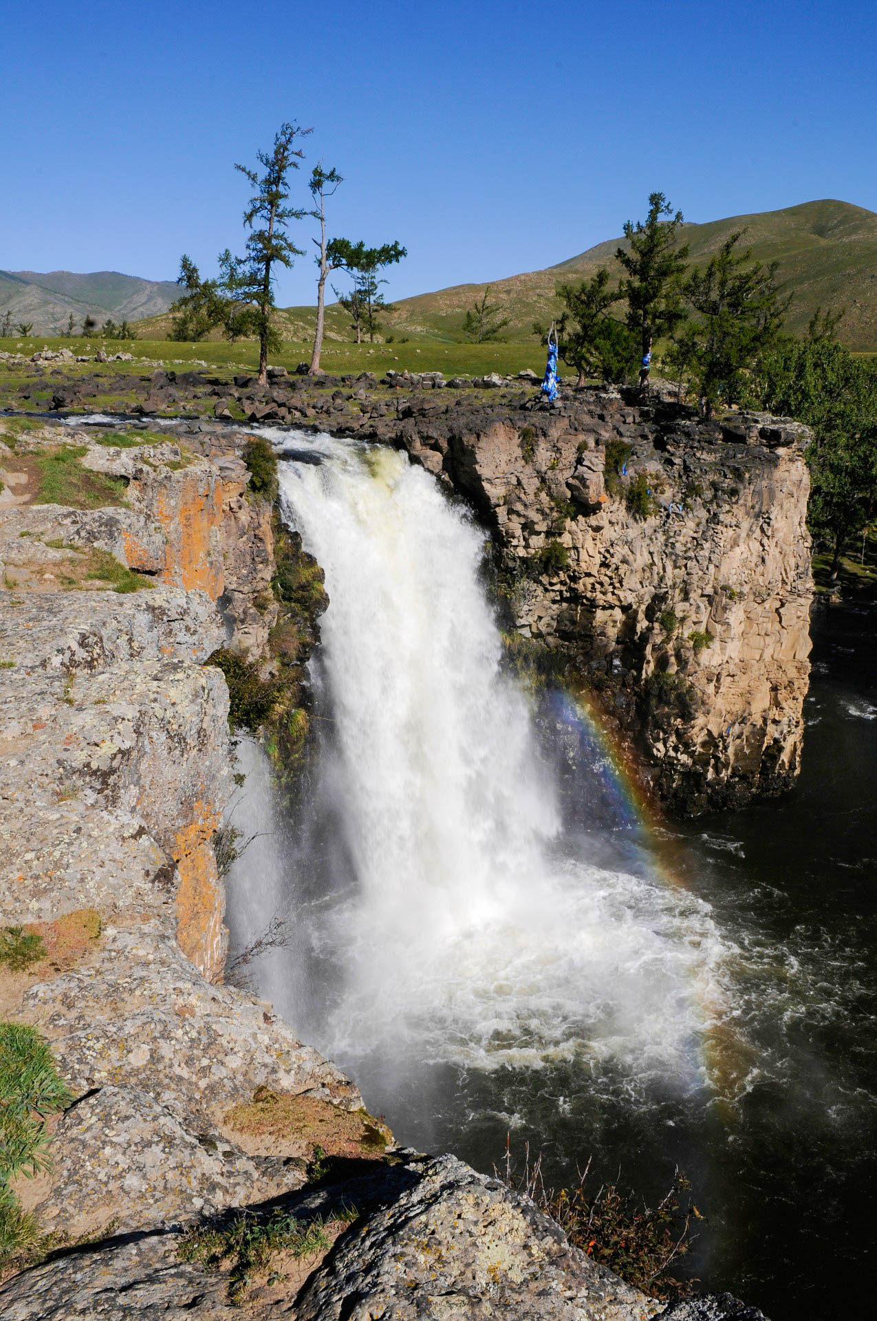Монголія водоспад Улаан-Цутгалан