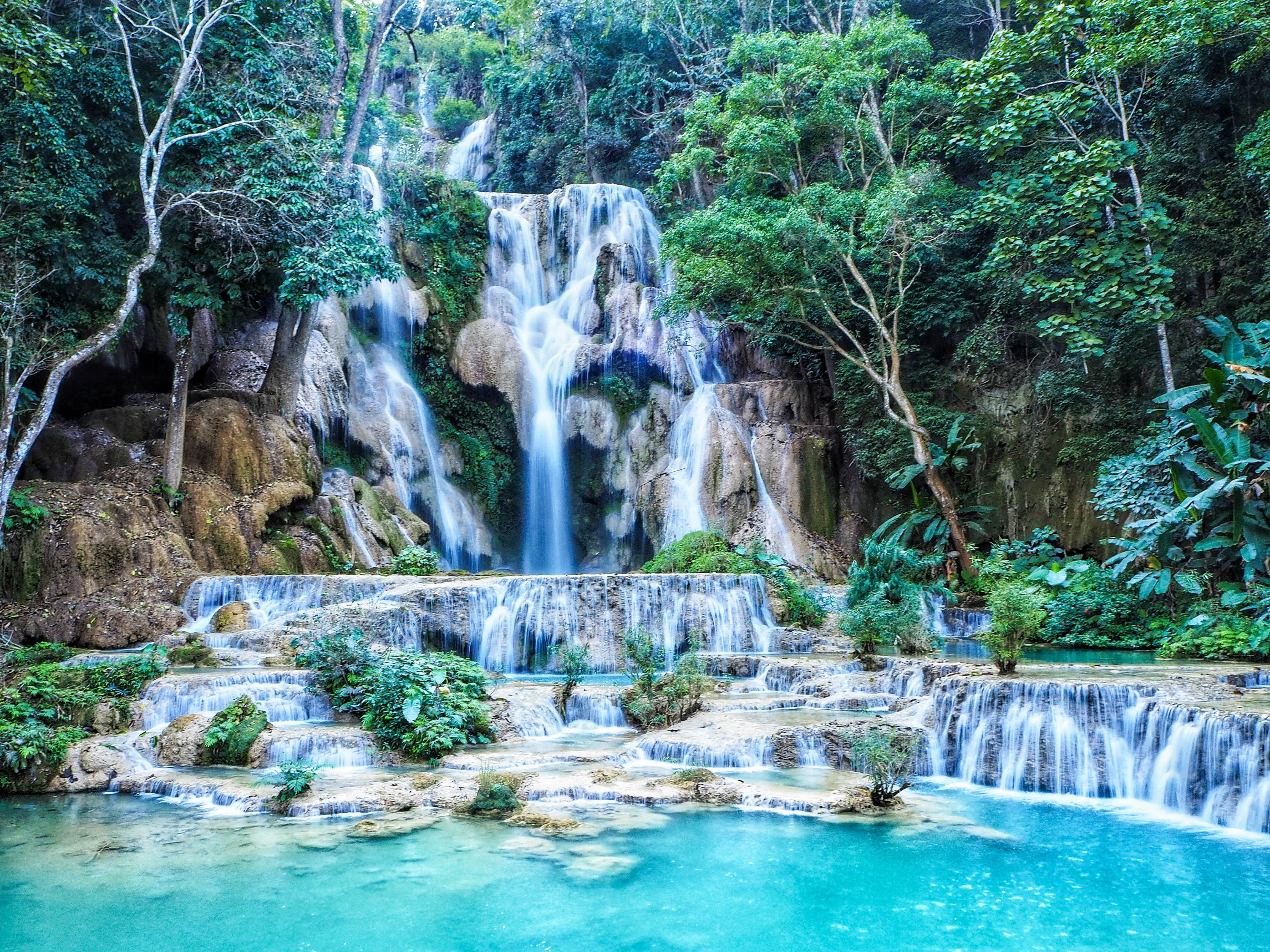 Водоспад Лаос Куанг Сі
