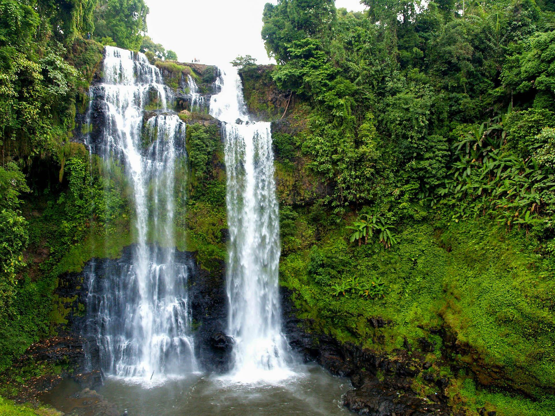 Лаос Тад Юанг водоспад