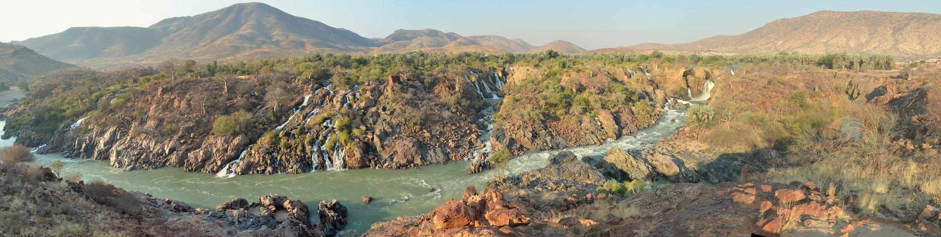 Намібійський водоспад Епупа