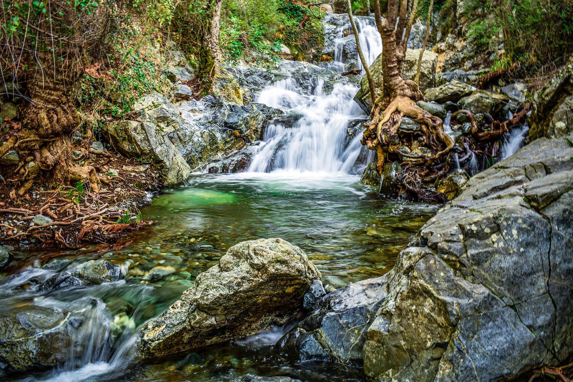 Кіпр Троодос водоспад