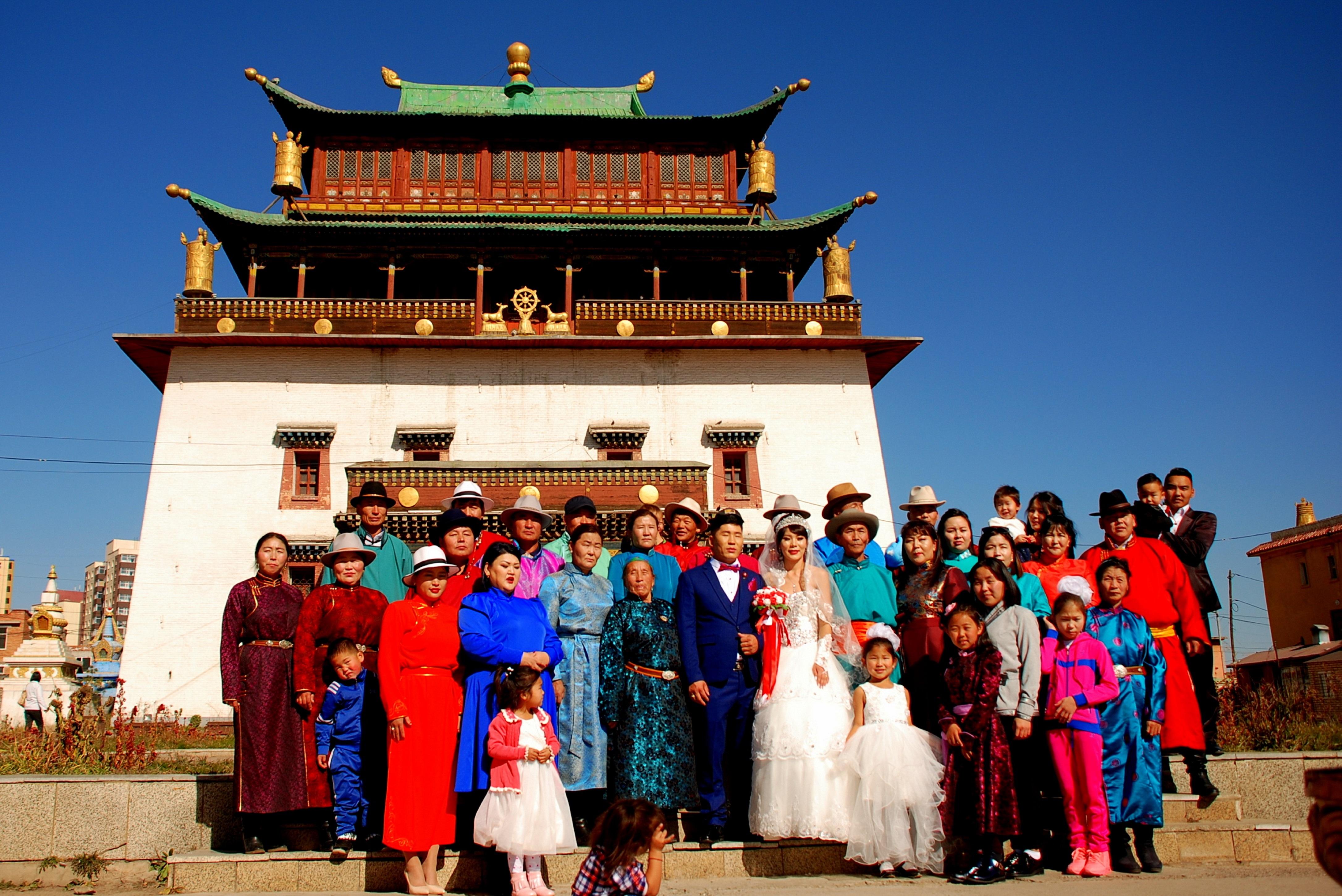 Монголія Улан-Батор Гандантегченлін