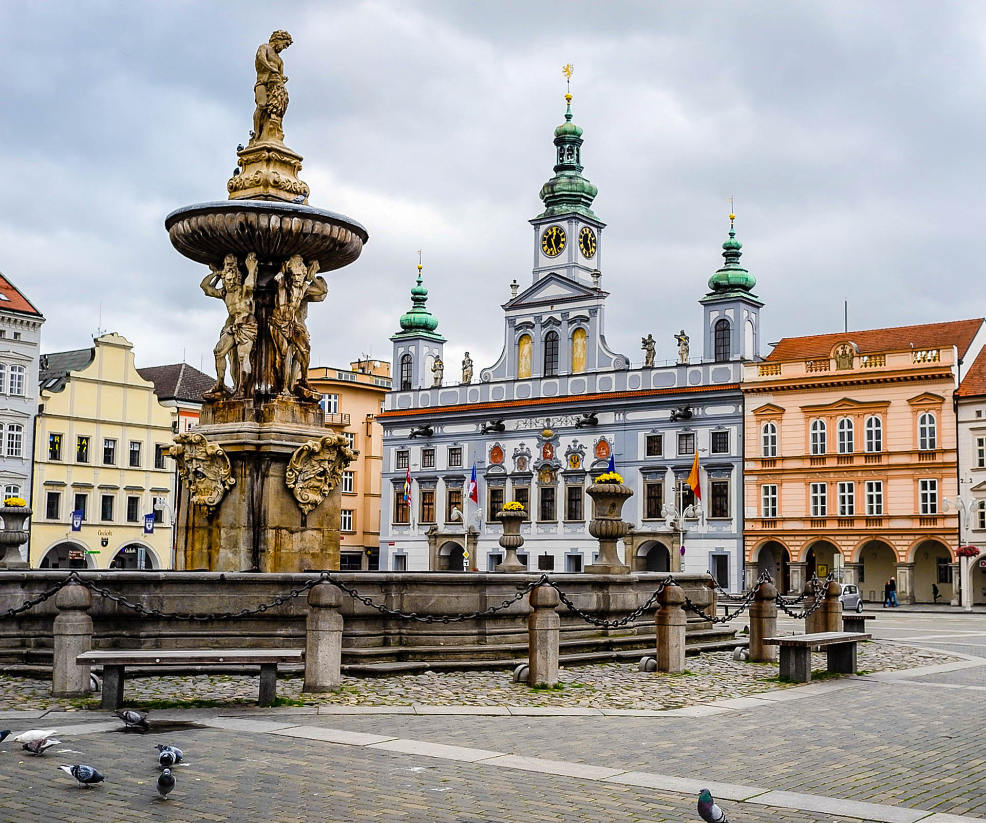 Чехія Чеське-Будейовице