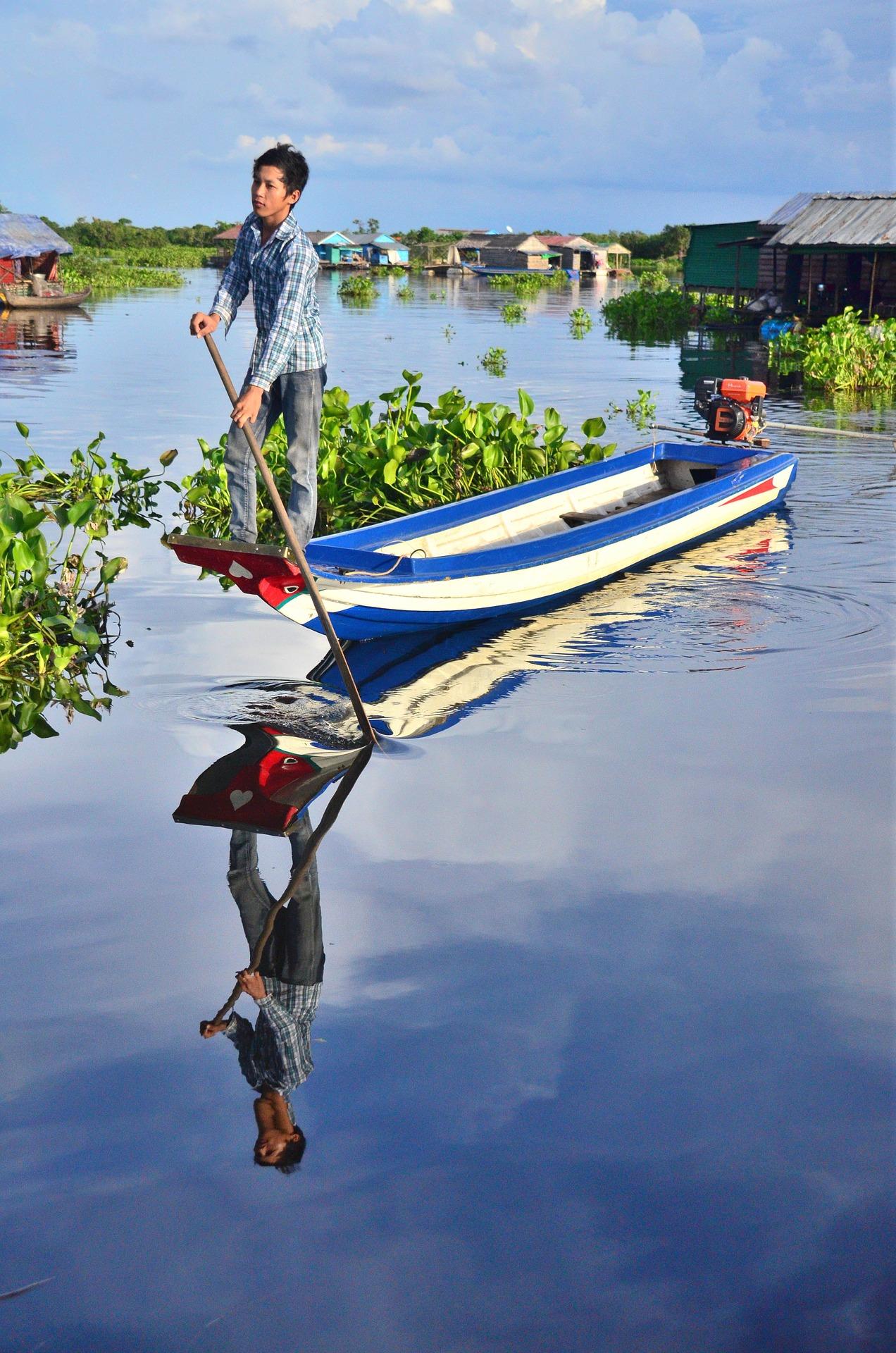 Камбоджа Сіємреап Тонлесап