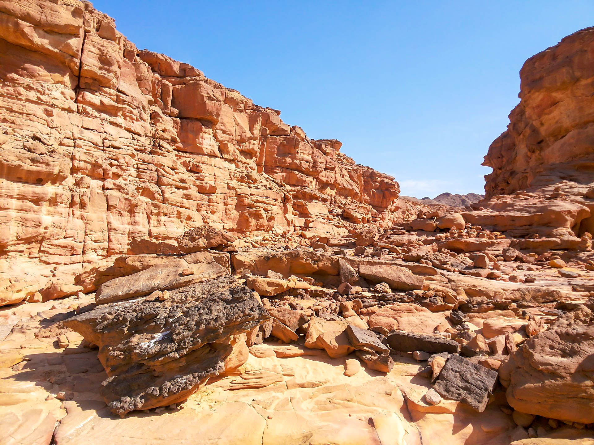 Єгипет Дахаб Кольоровий каньйон