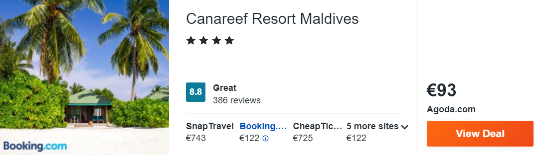 Canareef Resort Maldives