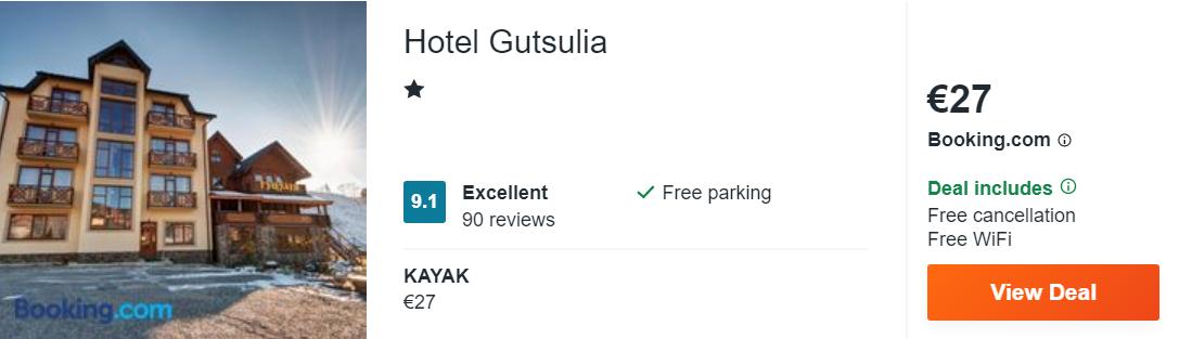 Hotel Gutsulia