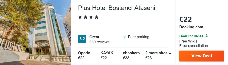 Plus Hotel Bostanci Atasehir