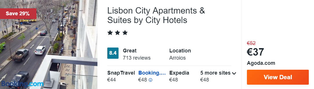 Lisbon City Apartments & Suites by City Hotels