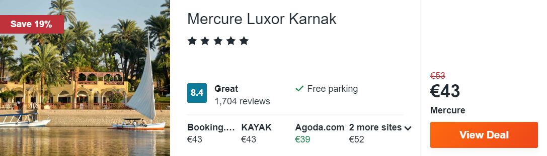 Mercure Luxor Karnak