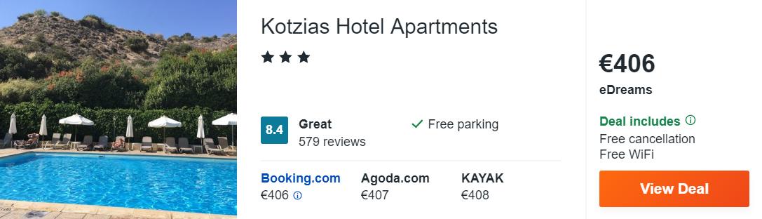 Kotzias Hotel Apartments