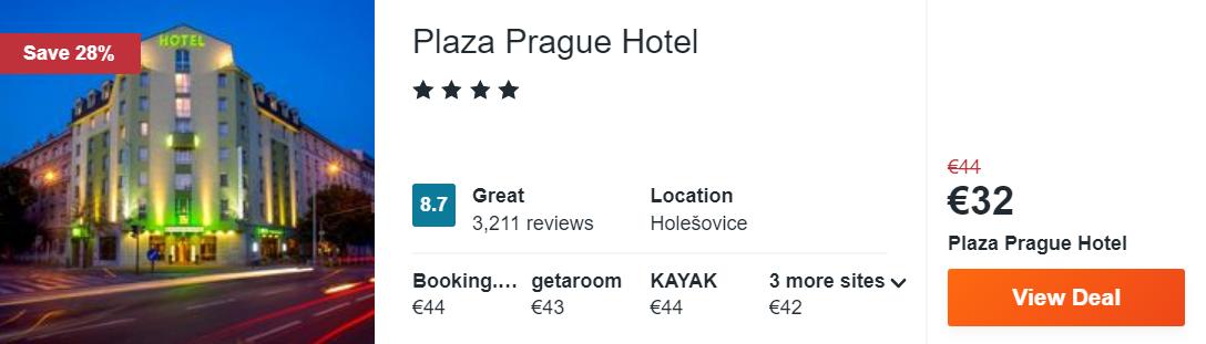 Plaza Prague Hotel