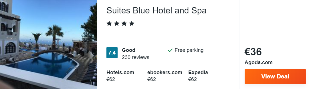 Suites Blue Hotel and Spa