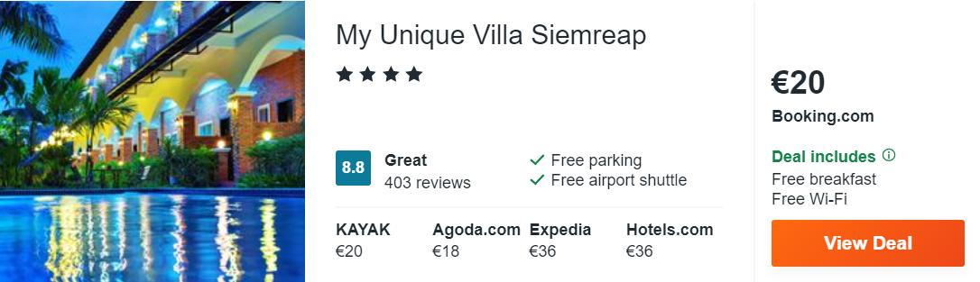 My Unique Villa Siemreap