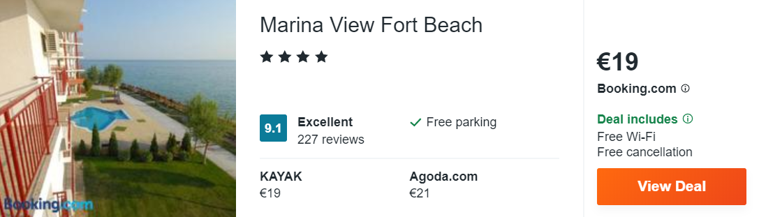 Marina View Fort Beach