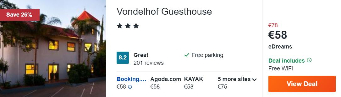 Vondelhof Guesthouse