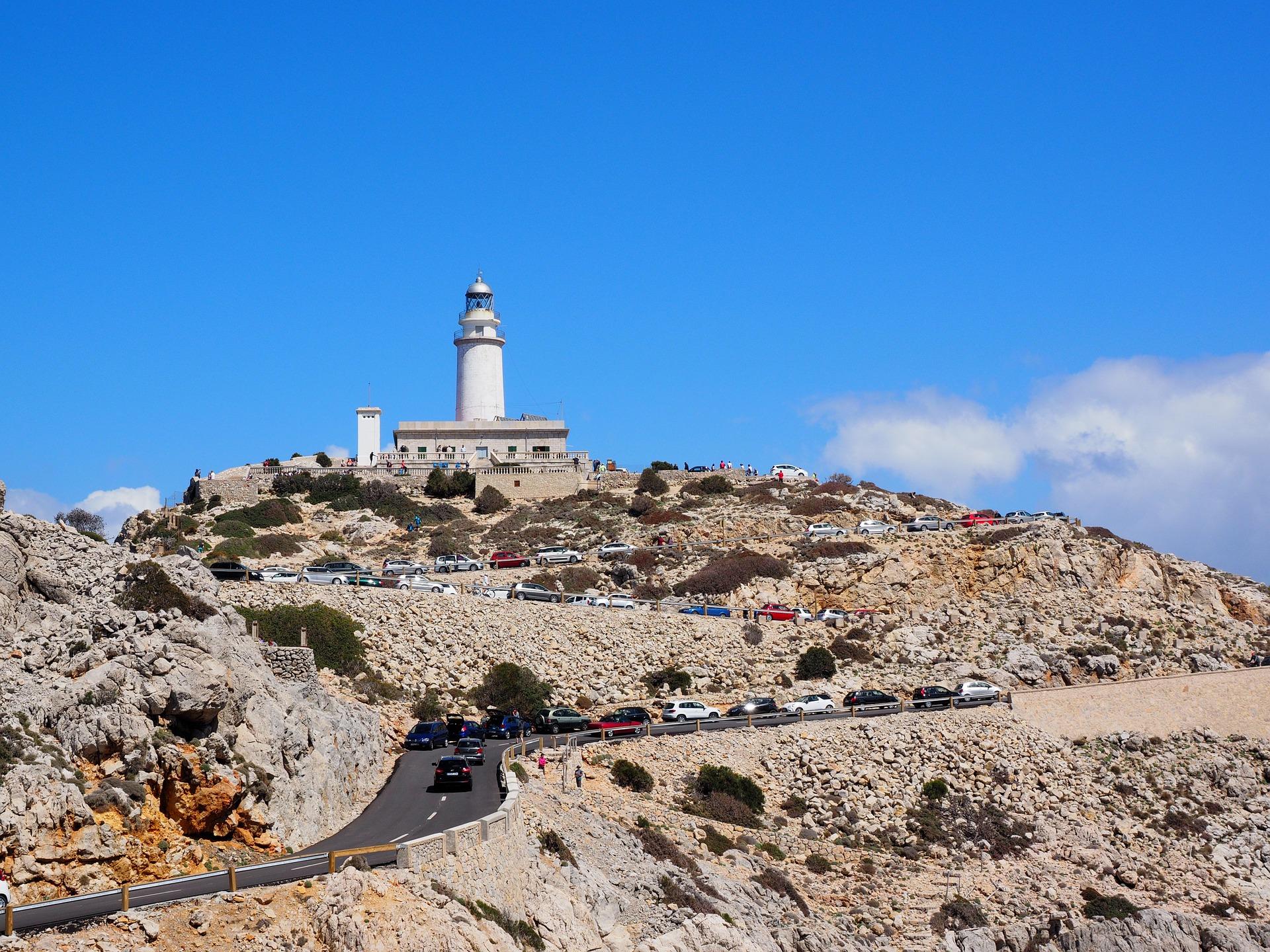 Іспанія Майорка маяк Форментор