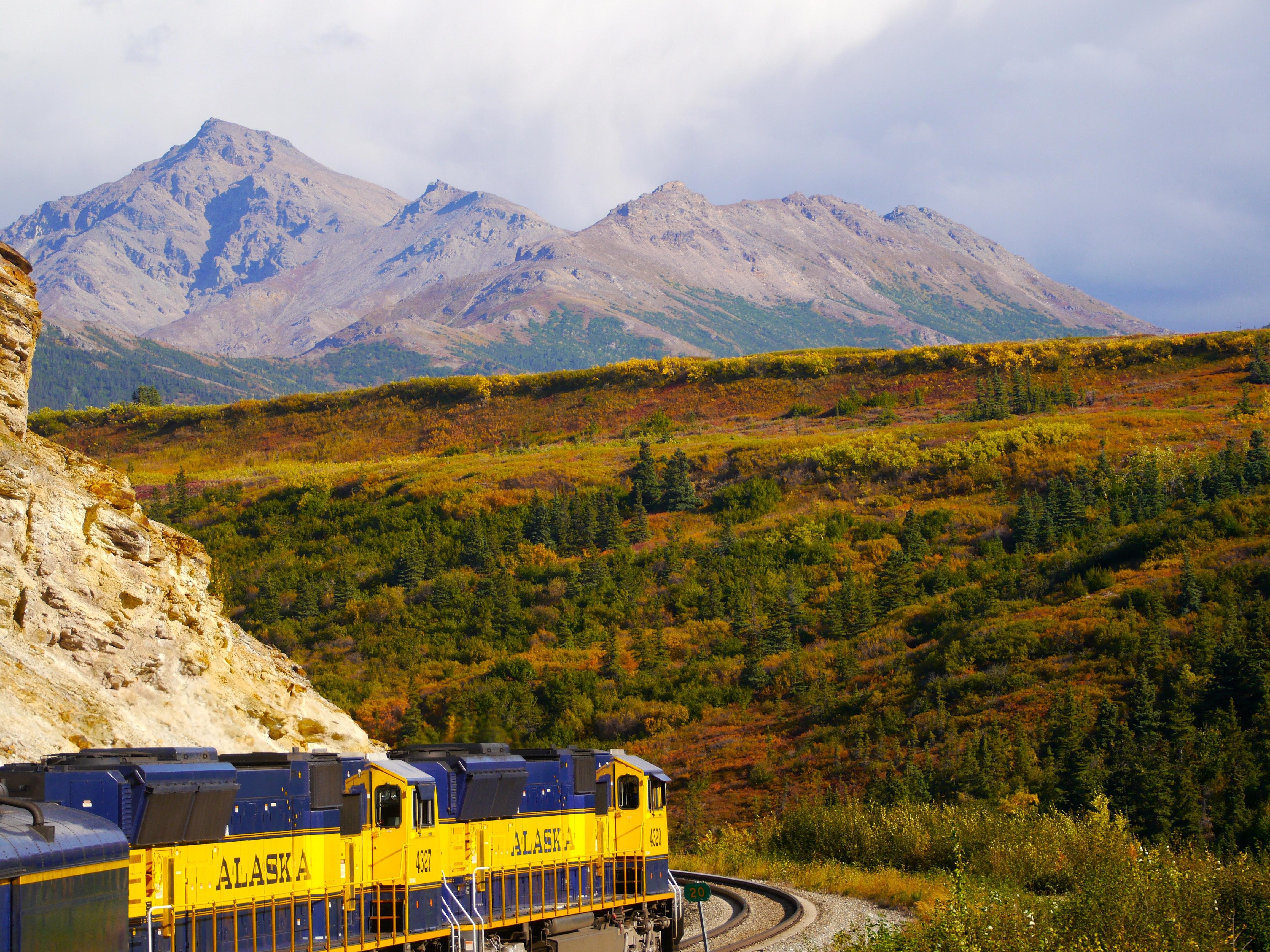 США Аляска залізниця