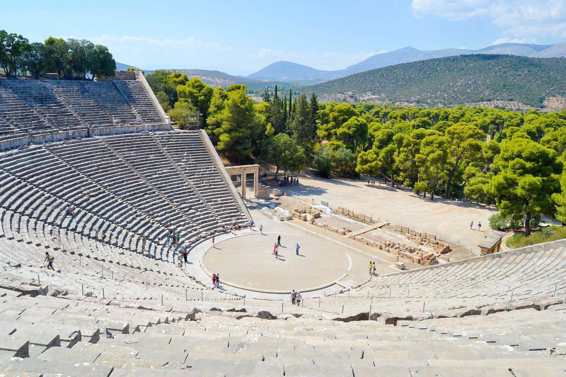 Греція Пелопоннес Епідавр