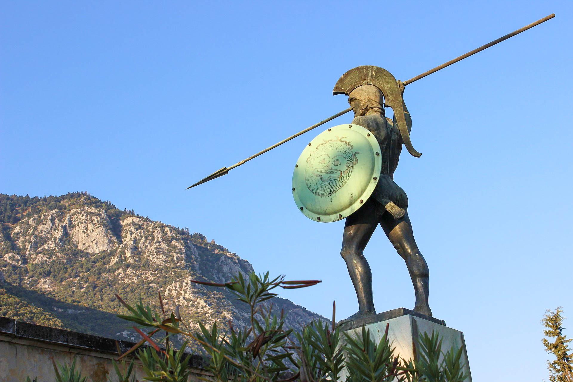 Греція Пелопоннес Спарта