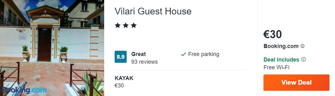 Vilari Guest House