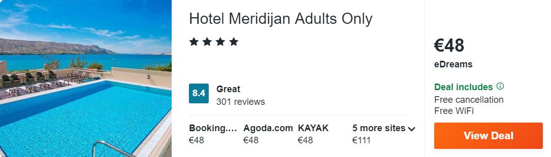 Hotel Meridijan Adults Only
